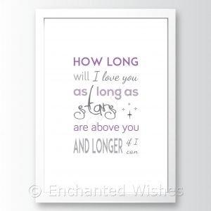 howlongwilliloveyou
