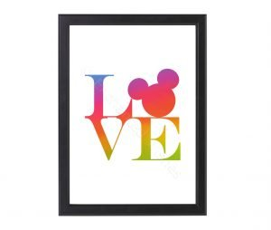 Free_Love_Disney_Mickey_Mouse_Print